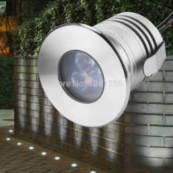 In Ground Lights Outdoor Aliexpress Buy Led Underground L 3w 12v Ip68 Outdoor Recessed Deck Floor Ground Spot