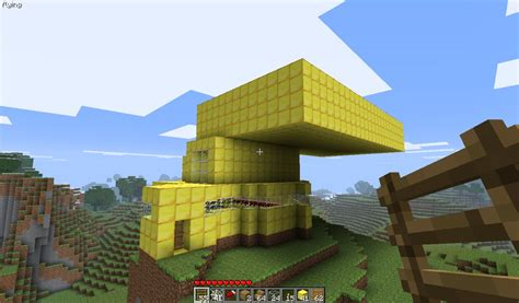 gold house big gold house minecraft project