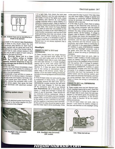 honda cbr600f service manual pdf wiring diagrams wiring