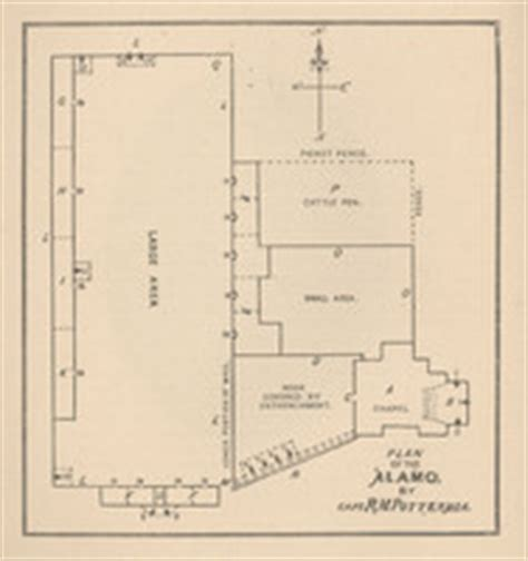 alamo floor plan 1836 image gallery layout of the alamo