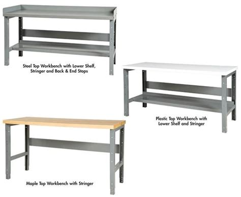 tall work bench adjustable height workbenches