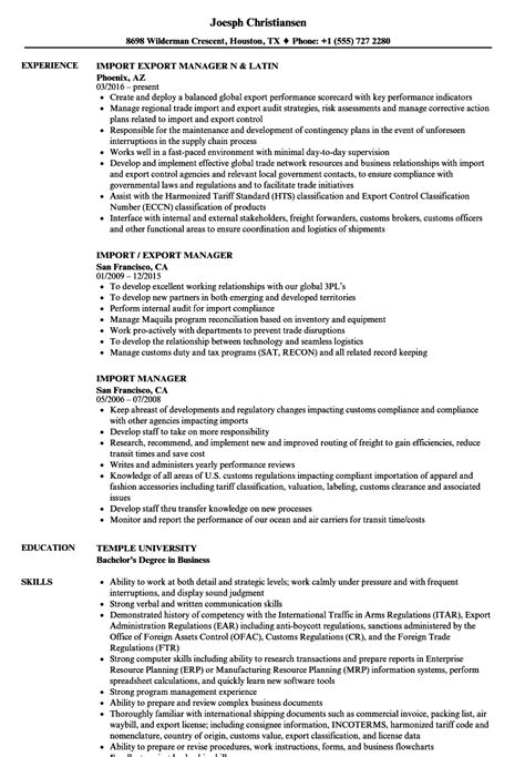 import resume into template import resume import export manager resume free template