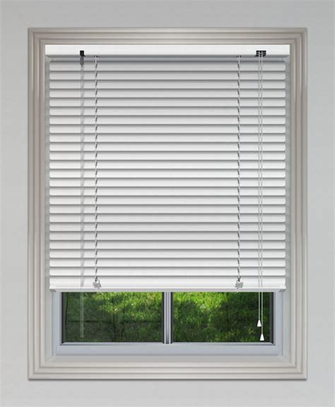 White Blinds 25mm Aluminium Venetian Blind White Venetian Blinds
