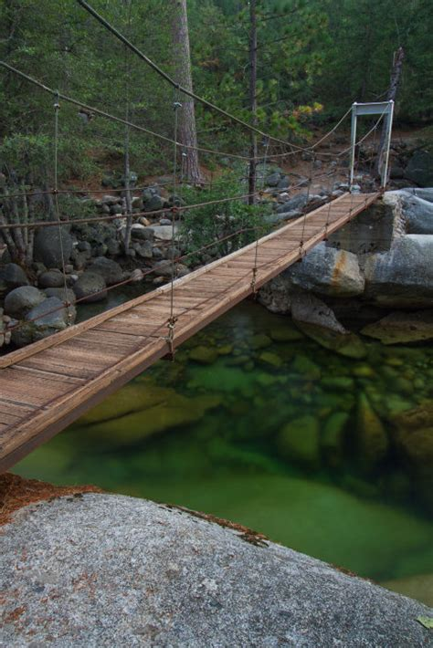 the swinging bridge summary yosemite hikes the wawona swinging bridge