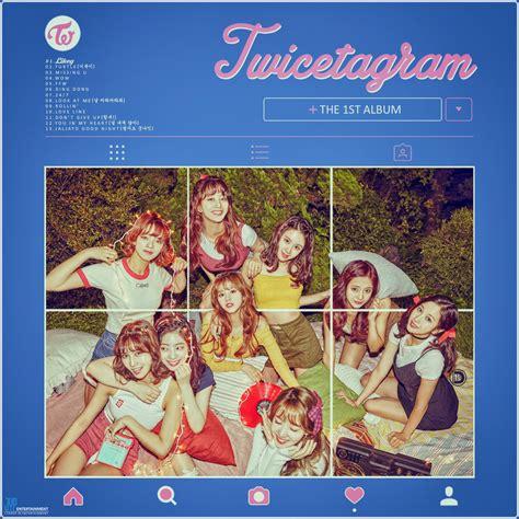 1st Album Twicetagram the 1st album twicetagram by diyeah9tee4 on deviantart
