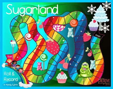 Printable Language Arts Board Games | sugarland board game printable freebie super fun k 6