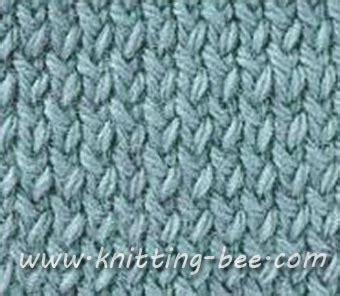 twisted knit stitch twisted stockinette stitch knitting pattern knitting bee