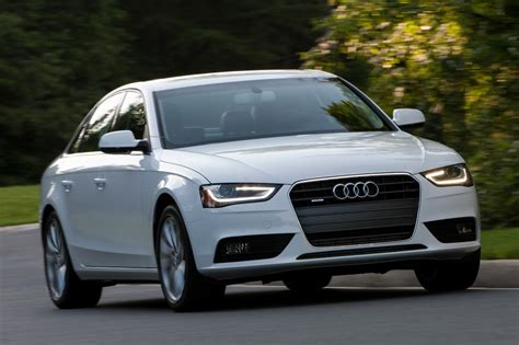 Review Audi A4 2013 by 2014 Audi A4 Reviews And Rating Motor Trend