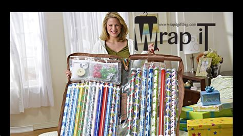 How To Make A Paper Shop - the best gift wrap organizer wrap it hanging gift wrap