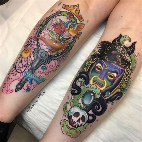 disney inspired tattoos disney inspired tattoos princesses and villains