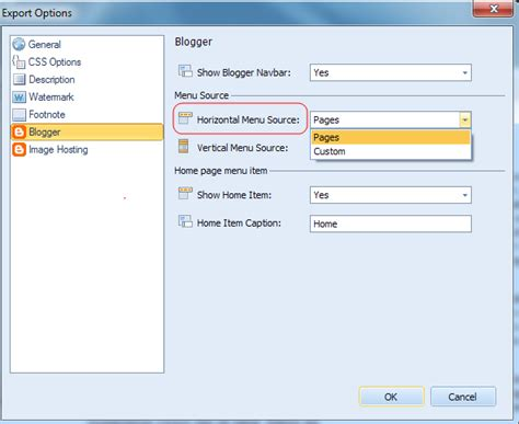 how to upload custom template to blogger image collections