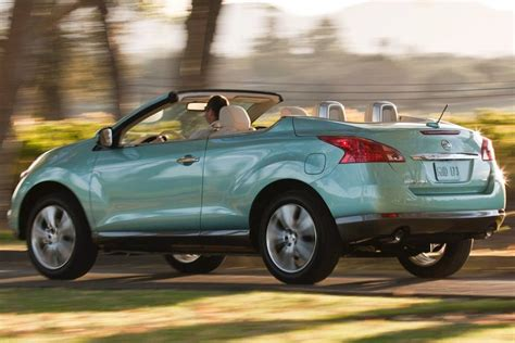 convertible suv nissan used 2014 nissan murano crosscabriolet suv pricing for