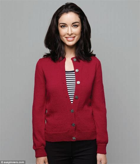 Modelling Cardigan laurina fleure sports conservative cardigans for