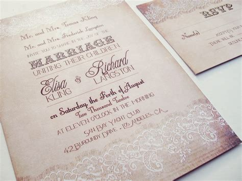Wedding Invitation Design Etsy by How To Make Etsy Wedding Invitations With Of How To Create