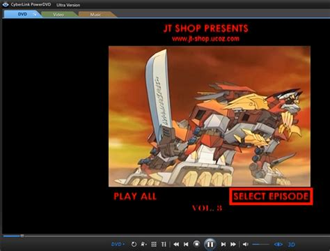 seri film zoids jual dvd anime zoids genesis 18 december 2012 jt shop