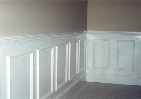 Wainscoting Chair Rail Molding by Home Improvements Chair Rail Wainscot Molding Best