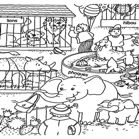 imagenes de animales del zoologico para preescolar dibujos para colorear dibujos de zoo para imprimir