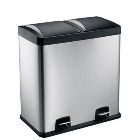 poubelle cuisine 60l poubelle 2 compartiments 60l m 233 canisme chasse d eau wc