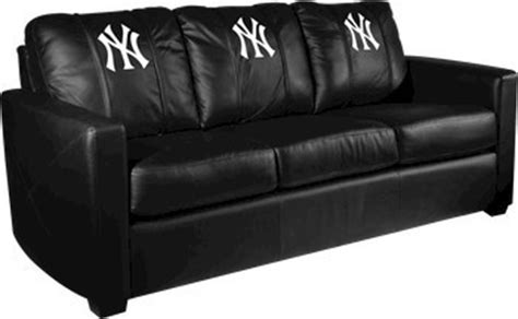 yankees couch new york yankees mlb xcalibur leather sofa traditional