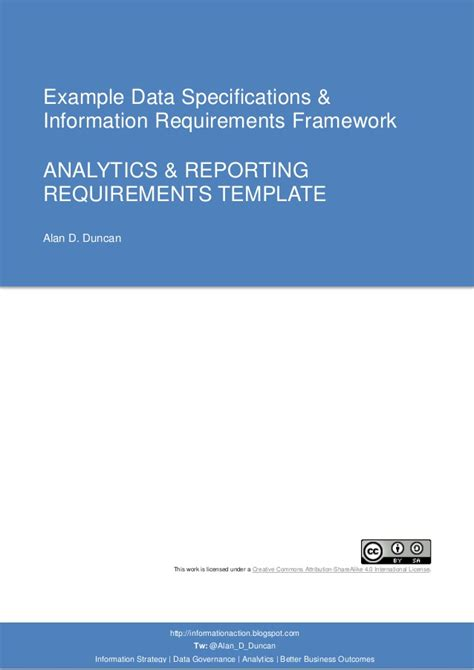 data warehouse business requirements template 07 analytics reporting requirements template