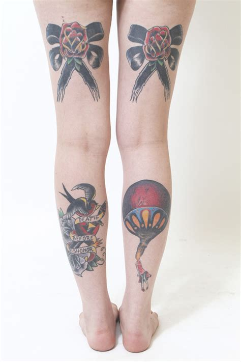 traditional tats on both legs best tattoo design ideas