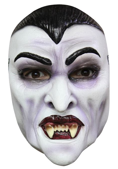 Scary Outdoor Halloween Decorations Dracula Mask