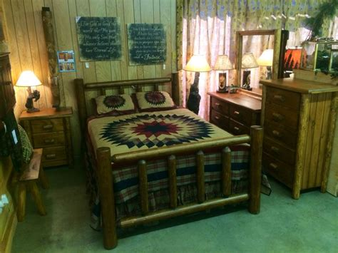 Log Headboard And Footboard by 1000 Ideas About Log Bedroom Sets On Log