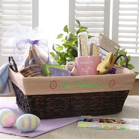 unique easter basket ideas for personalized easter gift ideas for babies family