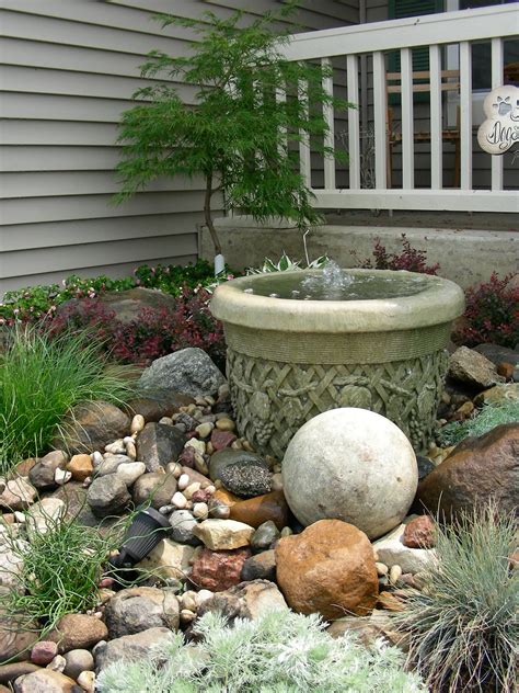 small rock garden pictures small rock garden and waterfall creations