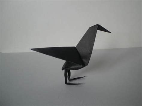 Origami Raven Tutorial | origami raven youtube