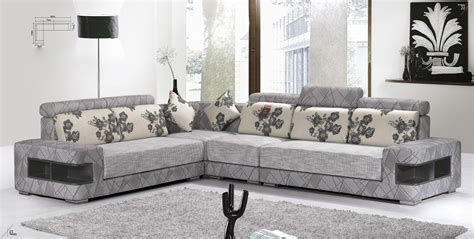 Modern Fabric Corner Sofas Rainbow Tz The Living Room Sofa Za Kitambaa Fabric Sofa