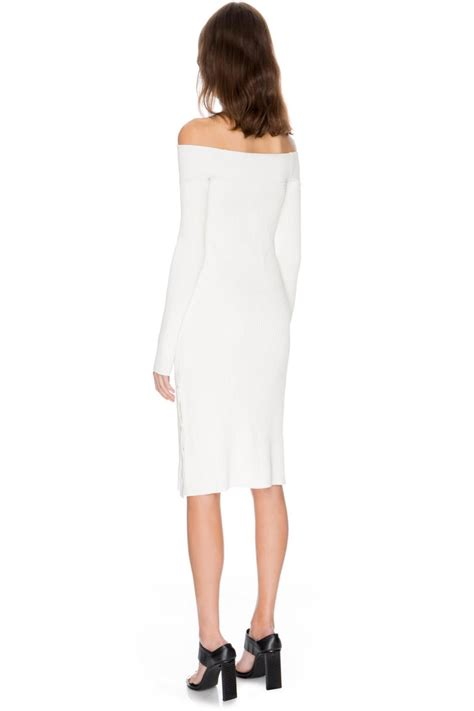white knit dress c meo collective white knit dress from south australia by
