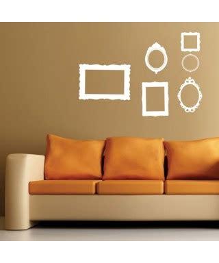 cornici adesive da muro wall stickers adesivi murali per la casa designtrasparente