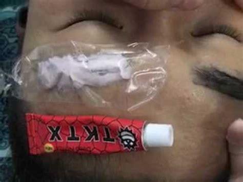 tattoo numbing cream youtube red tktx 38 lidocaine 10g professional eye anaesthetic