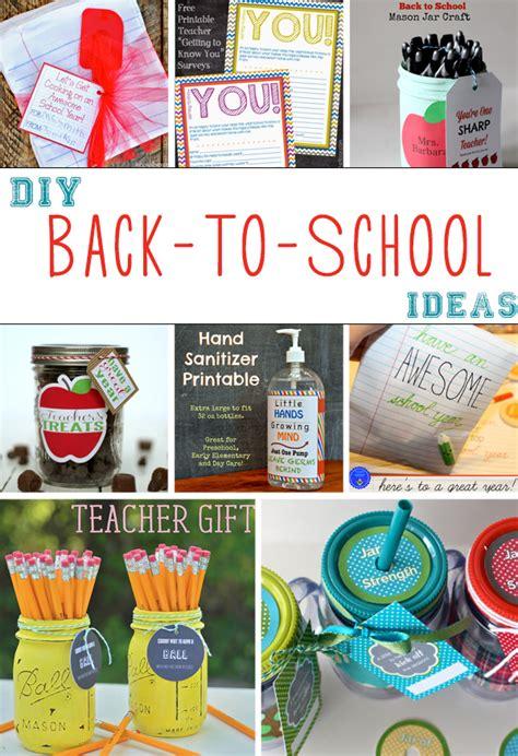 ideas for school 8 diy back to school ideas