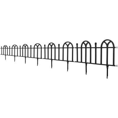 pure garden   victorian garden border fencing set