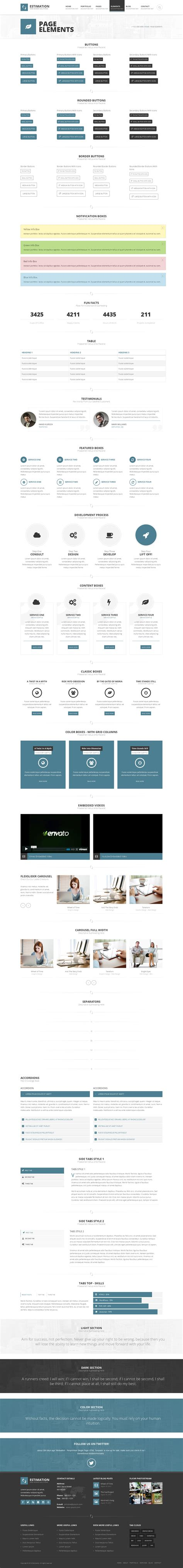 estimation responsive business html template free estimation responsive business html template by hedgehogcreative