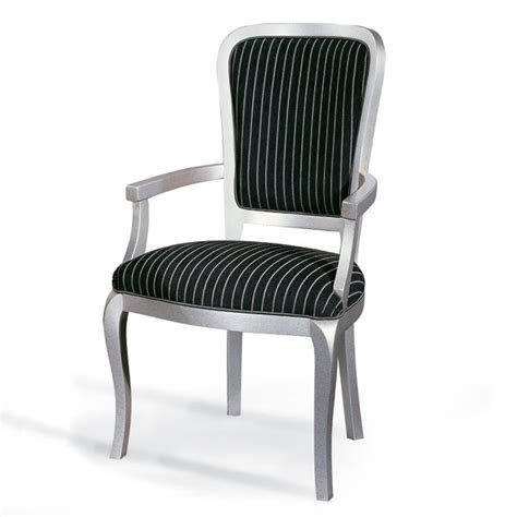 Upholstered Carver Dining Chairs Contemporary Louis Style Upholstered Carver Dining Chair
