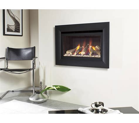 gas fireplace no chimney flavel jazz balanced flue gas no chimney black fjbl02rn