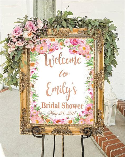 bridal shower decorations bridal shower sign bridal shower decorations wedding sign