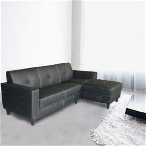 Genuine Leather Chaise Lounge Genuine Leather Sofa L Shape Lounge W Chaise Overship