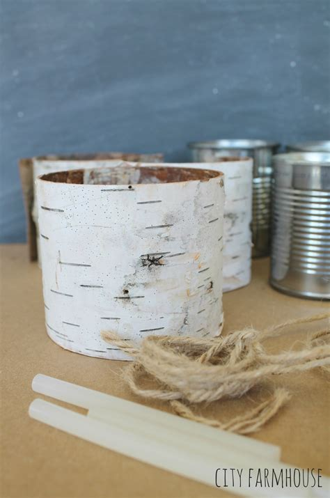 How To Make Birch Bark Vases by Diy Birch Vases Some Exciting Bhg News City Farmhouse
