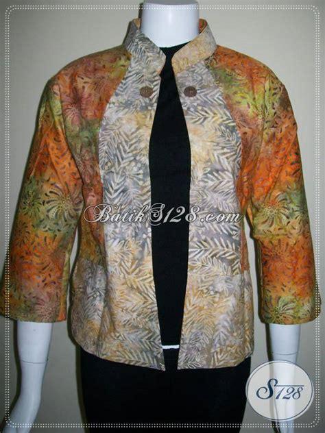 blazer batik panjang blazer batik untuk wanita modern bolero batik lengan