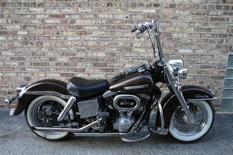 Harley Davidson 6089 harley shovelhead flh black ape hangers gallery click