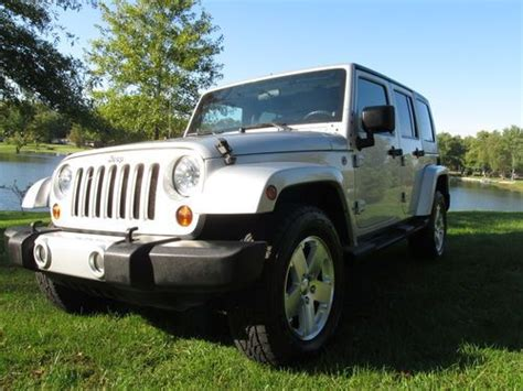 Jeep Evansville Find Used 2008 Jeep Wrangler Unlimited 4x4 Dual