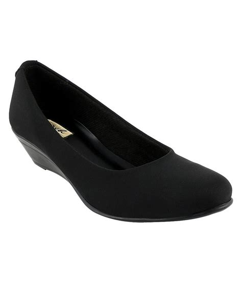 sporch black wedge formal shoes price in india buy sporch