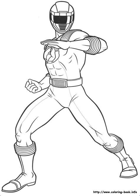 Mewarnai Gambar Robot Power Rangers