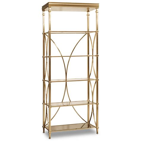 etagere furniture hooker furniture highland park bunching etagere with glass shelves fashion furniture open