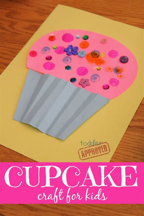 cupcake craft for numeroff book club