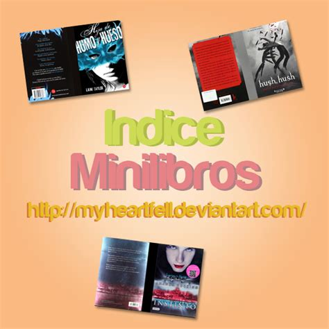 libro in my heart a indice mini libros by myheartfell on